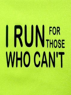 Hippie Runner - I RUN FOR THOSE WHO CAN'T, $8.00 (http://www.hippierunner.com/i-run-for-those-who-cant/)
