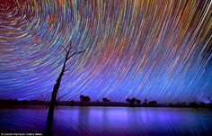 Australia's big sky and photographer's patience lead to stunning time-lapse images | Mail Online