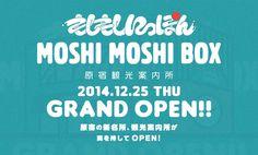 Moshi Moshi Box, nuovo centro informazioni turistiche ad Harajuku - Tokyo - News dirette dal Giappone, viaggi e tour a basso costo