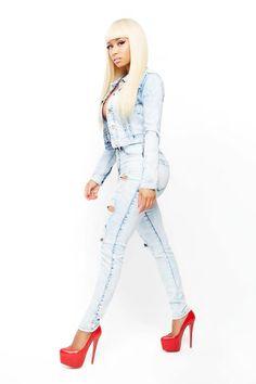 Nicki minaj. From her collection...!