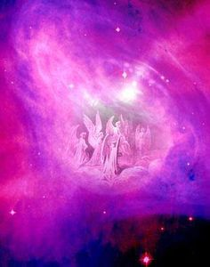 As celestial beings angels over see our lives Seraph Angel, Angel Clouds, Intense Love, I Believe In Angels, Angel Prayers, Angel Guidance, Ange Demon, Angels Among Us, Divine Light