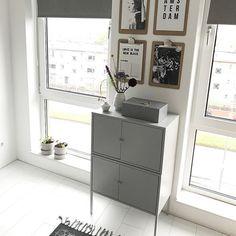 De LIXHULT kast bij @mach.s | IKEABijMijThuis IKEA IKEAnl IKEAnederland inspiratie wooninspiratie interieur wooninterieur grijs kasten slaapkamer