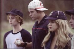 Twilight baseball scene...I could watch this scene 592 times.