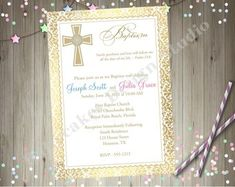 95 best baptism invitations images on pinterest in 2018 baptism