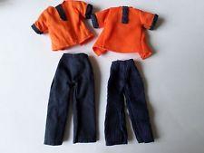 2 variante 1st question palitoy pippa topper dawn doll pantalon costumes coton & corde