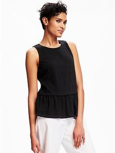Relaxed Peplum Top for Women | Old Navy