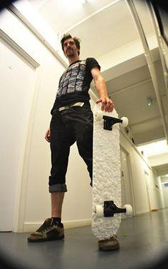 Gotta say as a former Skateboarder myself, I love this 3D Printed Deck by Sam Abbott