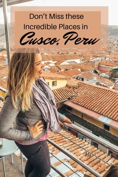 "Colorful. Captivating. Breathtaking. Cusco is a city where the past forms part of the present. Cusco is so much more than a ""connection point"", or a place to take time to adjust to the altitude. Exploring the city of Cusco was one of my favorite memories of Peru. Here are my experiences and tips and tricks I recommend to make your time unforgettable. Peru Travel, Hawaii Travel, Italy Travel, Amazing Destinations, Travel Destinations, Holiday Destinations, Famous Cocktails, South America Travel, North America"