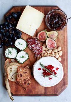 Diana Yen is the cookbook author and food stylist behind The Jewels of New York. She shares with us her tips on how to throw together a festive cheese platter for your next holiday party.