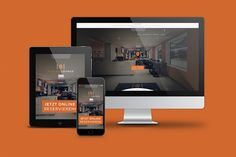 Webgestaltung der Players Lounge auf allen Endprodukten.
