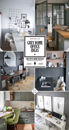 * ♥♥* grey home office* ♥♥*