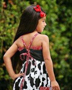 Girls Dress Pattern, PDF Dress Pattern, PDF Sewing Patterns The Willow Dress sizes 6m -12