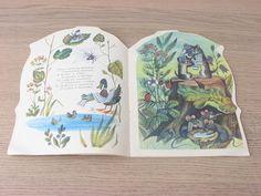 Old russian book MOYDODYR 1985 Vintage Soviet children's