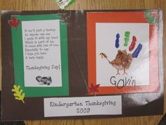 Thanksgiving Placemats we make for our kids during Thanksgiving