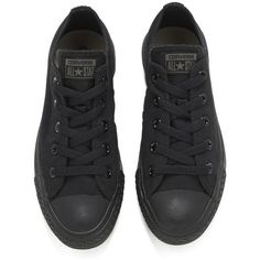 764bd23cfe80 Converse Unisex Chuck Taylor All Star OX Canvas Trainers - Black... ( 68