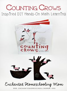 Bring hands-on math learning to life with these fun DIY Counting Crows inspired by the storybook Counting Crows by Kathi Appelt. These are not only easy to make, but also fun to practice your hands-on math skills with.