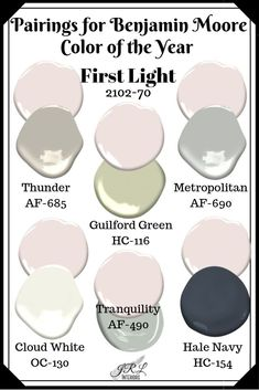 The Best Benjamin Moore Light Pink Paint Colors Everyone ...