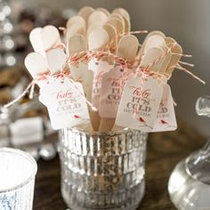 Baby Its Cold Outside – Baby Shower Printables by I Heart to Party