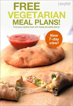 Make your own vegetarian meal plan that suits your calorie needs!