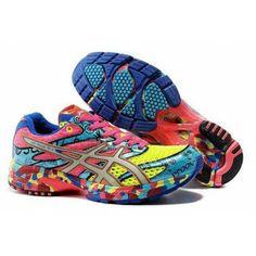 640bcb1431b 1BI6 Zapatillas Asics Gel-Noosa Tri 6 Hombre Volt Verde Rosa Pink Running  Shoes