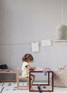 Ferm Living Little Architect Table , Rose - Børnemøbler Architect Table, Little Architects, Playroom Table, Luminaire Design, Kids Decor, Kids House, Table And Chairs, Kids Bedroom, Kids Rooms
