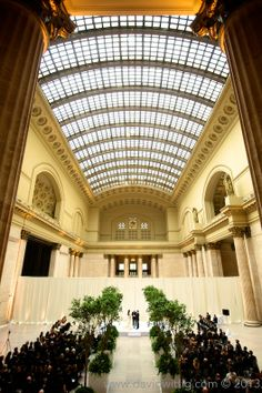 Union Station Chicago // Photography by David Wittig Photography // Decor by Kehoe Designs