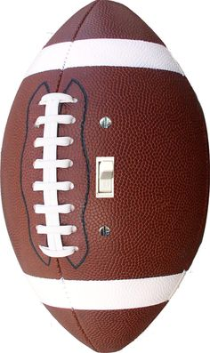 Football shaped Single Toggle light switch cover wall plate