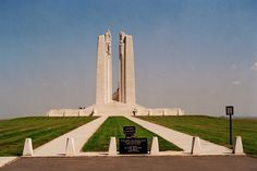 My children WILL understand the sacrifices their forefathers made so they can enjoy the freedoms they now take for granted.    Vimy Ridge.  Canadian WW1 memorial