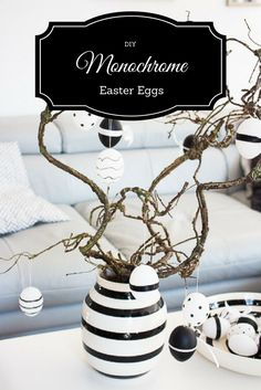 DIY: Monochrome Oste