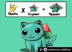 What's your fav Pokemon ? Credit @pokemon.addition  #pokemon #pikachu #bulbasaur #cute #like #games #iphone #android #follow #art #potd