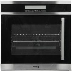 "Fagor 6HA200TLX 24"" Single Electric Wall Oven with 1.98 cu. ft. Oven Capacity, 10 Cooking Programs, Left Side Door, European Style Convection, LCD Touch Controls, Child Lock and Telescopic Pullout System"