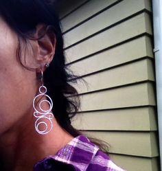 Fine Silver Earrings by Danielledunlap on Etsy, $78.00