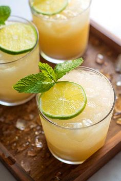 How about a mai tai, hmmmm? This drink is a fave, especially on Frid… – Best Shares Mai Tai Cocktail Recipes, Cocktail Shaker Recipes, Summer Drinks, Fun Drinks, Beverages, Fresco, Strawberry Mojito, Liqueur, Simply Recipes