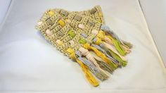 Color Weave Toddler Scarf by HookTwineAndThinker on Etsy