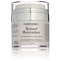 Pure Body Naturals AntiAging Retinol Cream 17 Fl Ounce >>> Read more reviews of the product by visiting the link on the image.