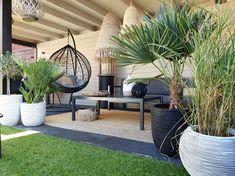 Small Backyard Design, Small Backyard Landscaping, Garden Design, Garden Bar, Love Garden, Home And Garden, Outdoor Rooms, Outdoor Decor, Diy Terrasse