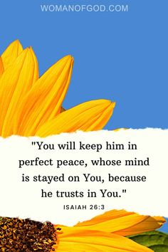 You will keep whoever's mind is steadfast in perfect peace, because he trusts in you. Scriptures, Bible Verses, Isaiah 26 3, He Is Lord, Perfect Peace, Angels In Heaven, Verse Of The Day, Godly Woman