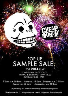 Cheap Monday popup store -- Utrecht -- 13/12-29/12