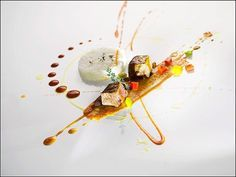 Chef Gianfranco Chiarini... L'art de dresser et présenter une assiette comme un chef de la gastronomie... > http://visionsgourmandes.com > http://www.facebook.com/VisionsGourmandes . Photo à aimer et à partager ! ;) #gastronomie #gastronomy #chef #presentation #presenter #decorer #plating #recette #food #dressage #assiette #artculinaire
