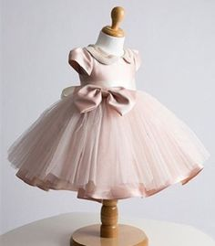 Couture Princess and Posh Dress - girls couture dress, pageants, holidays, birthdays, baptism, photos, girls dress