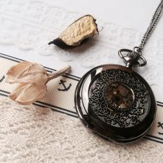 Hey, I found this really awesome Etsy listing at https://www.etsy.com/listing/109572453/vintage-steampunk-pocket-watch-necklace