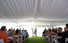 Beautiful Tent wedding on Kalamalka Lake, Vernon, BC by All Occasions Party and Event Rentals, Kelowna BC  http://alloccasionsparty.ca