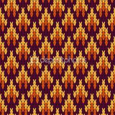 Abstract pattern with seamless knitted texture — Stok Vektör © KateKu #98301554