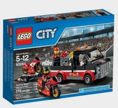 LEGO City Great Vehicles Racing Bike Transporter: Toys Amazonhttp://fave.co/2cRPrz2