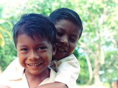 Amerindian boys Guyana