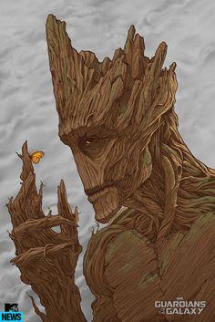 'Groot' by Randy Ortiz