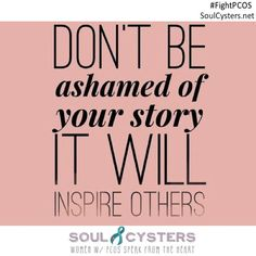 You're not alone with PCOS!  Join our free message board @ SoulCysters.net !