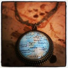 Map necklace <3
