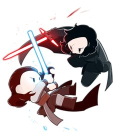 REY AND KYLO REN kylo mad me so mad in the last jedi