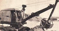 Экскаватор Э-255 с обратной лопатой